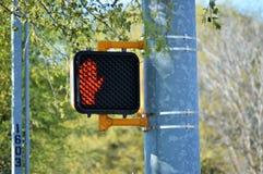 Sinal do cruzamento pedestre Imagens de Stock