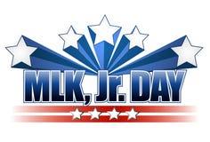 Sinal do dia de Martin Luther King Jr. ilustração do vetor