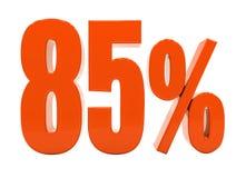 Sinal do disconto 3d dos por cento Fotografia de Stock Royalty Free