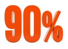 Sinal do disconto 3d dos por cento Imagem de Stock Royalty Free