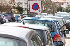 Sinal do estacionamento do pagamento Imagem de Stock Royalty Free