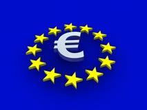 Sinal do Europa ilustração stock