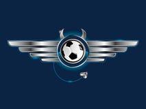 Sinal do futebol Ilustração do Vetor