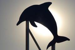 Sinal do golfinho Foto de Stock Royalty Free