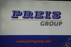 Sinal do grupo de Preis fotos de stock