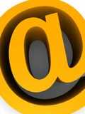 Sinal do Internet Imagem de Stock