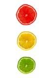 Sinal do limão Foto de Stock Royalty Free