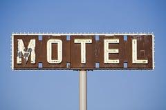 Sinal do motel fotografia de stock royalty free