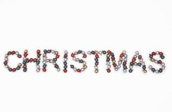 Sinal do Natal Imagens de Stock