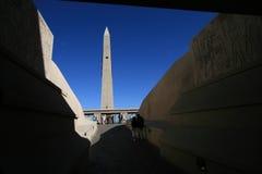 Sinal do obelisco do hotel de Luxor imagens de stock royalty free