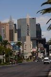 Sinal do obelisco para o casino do hotel de Luxor em Las Vegas Fotografia de Stock