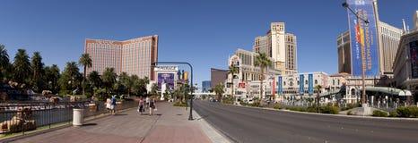Sinal do obelisco para o casino do hotel de Luxor em Las Vegas Fotos de Stock Royalty Free