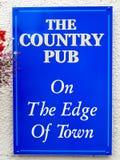 Sinal do Pub Imagem de Stock Royalty Free