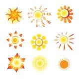 Sinal do sol Foto de Stock Royalty Free