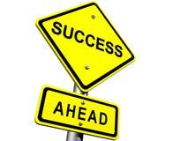 Sinal do sucesso Imagens de Stock Royalty Free