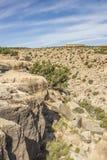 Sinal do tempo em Dragon Canyon preto Foto de Stock Royalty Free