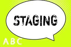 Sinal do texto que mostra a plataforma Método conceptual da foto que apresenta o jogo ou o outro grupo dramático do perforanalysi ilustração do vetor