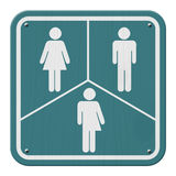Sinal do Transgender Fotografia de Stock Royalty Free