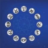 Sinal do zodíaco ilustração royalty free
