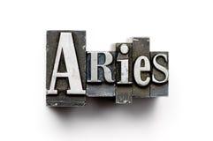 Sinal do zodíaco do Aries foto de stock royalty free