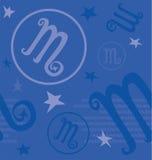 Sinal do zodíaco do símbolo Imagem de Stock