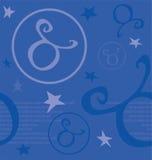 Sinal do zodíaco do símbolo Fotografia de Stock