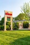 Sinal dos preços de gás da loja de WaWa Fotos de Stock Royalty Free