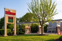 Sinal dos preços de gás de WaWa Imagem de Stock
