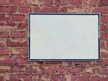 Sinal em branco Fotografia de Stock
