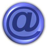 Sinal - email Fotografia de Stock Royalty Free