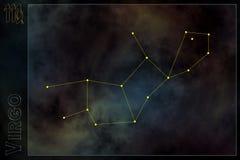 Sinal estilizado do zodíaco Fotos de Stock