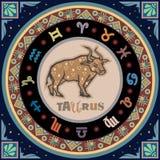 Sinal estilizado do zodíaco Fotografia de Stock Royalty Free
