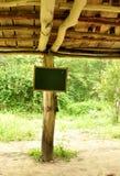 Sinal exterior de suspensão Imagens de Stock