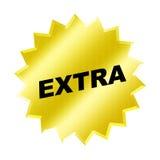 Sinal extra Foto de Stock Royalty Free