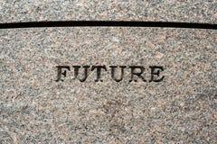 Sinal futuro Foto de Stock