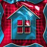 Sinal Home ilustração royalty free