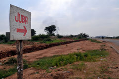 Sinal a Juba Imagem de Stock Royalty Free