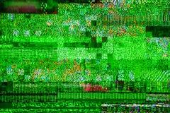 Sinal mau Digital Video Broadcasting do dbvt do sinal do ruído da tevê imagens de stock royalty free