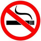 Sinal não fumadores Fotos de Stock Royalty Free
