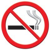 Sinal não fumadores Foto de Stock Royalty Free