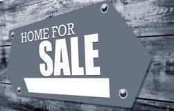 Sinal para a venda Imagens de Stock Royalty Free