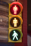Sinal pedestre Fotografia de Stock Royalty Free