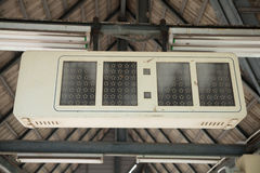 Sinal railway de Digitas Fotografia de Stock Royalty Free