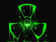 Sinal tóxico ilustração do vetor