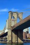Sinal, tijolos, perto da ponte de Brooklyn Imagem de Stock