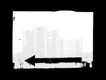 Sinal urbano ilustração stock