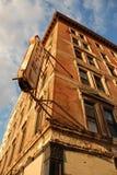 Sinal velho do hotel Imagens de Stock Royalty Free