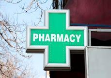 Sinal da farmácia Imagem de Stock