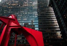 Sinal vermelho Fotografia de Stock Royalty Free