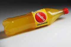 Sinalco apelsin, det äldsta läskmärket i Europa arkivbilder